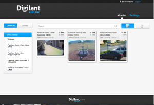 The Digilant Online Dashboard allows you to view all of your locations quickly and easily on one page.